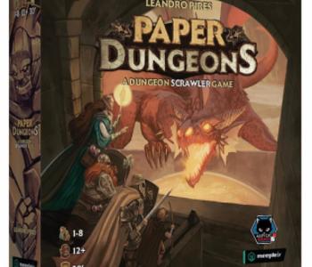 Précommande: Paper Dungeons (EN)