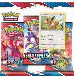 Pokemon Pokemon: Sword & Shield Battle Style 3 pack Blister (EN)