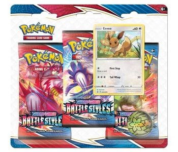 Pokemon: Sword & Shield Battle Style 3 Pack Blister (EN)