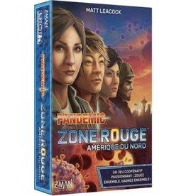 Z-Man Games, Inc. Pandemic: Zone Rouge: Amerique Du Nord (FR) boite endommagée