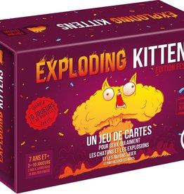 Exploding Kittens Exploding Kittens: Edition Festive (FR)