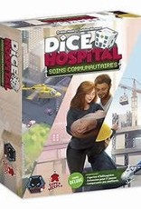 Super Meeple Dice Hospital: Ext. Community Care Deluxe (FR)