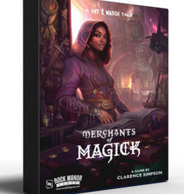 Rock Manor Games Précommande: Merchants Of Magick: A Set A Watch Tale (EN)