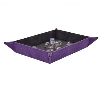 Précommande: UP Dice Foldable Rolling Tray Amethyst