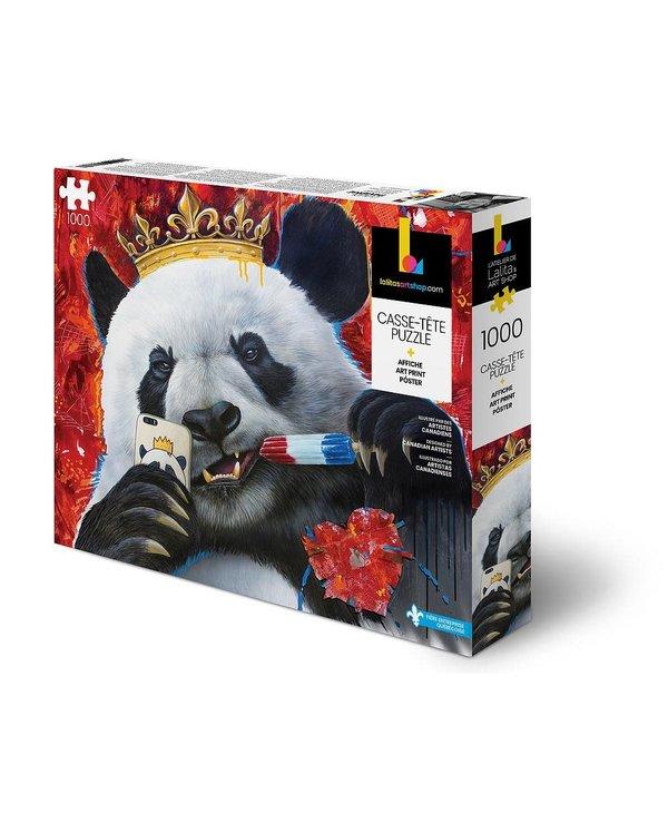 Casse-tête: Panda (1000 Mcx)