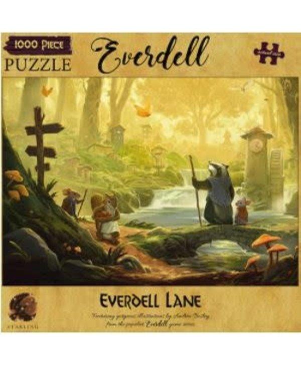 Casse-tête: Everdell: Everdell Lane (1000 Mcx)