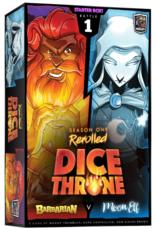 Roxley Dice Throne Season One Rerolled Box 1 Barbarian vs Moon Elf (EN)