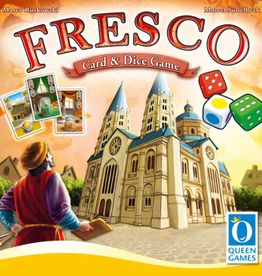 Queen Games Fresco: Card And Dice Game (EN)