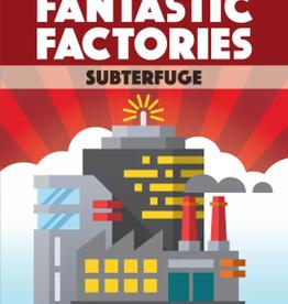 Greater Than Games Précommande: Fantastic Factories: Ext. Subterfuge (EN)