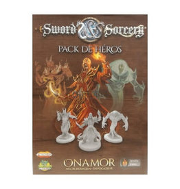 Intrafin Games Sword And Sorcery: Pack De Heros Onamor (FR)