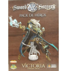 Intrafin Games Sword And Sorcery: Pack De Heros Victoria (FR)