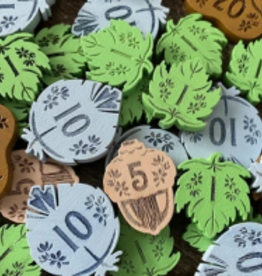 Elf Creek Games Précommande: Honey Buzz Wooden Coins