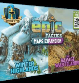 PixieGames Précommande: Tiny Epic Tactics: Ext. Maps (FR)