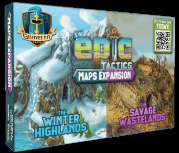 Tiny Epic Tactics: Ext. Terrains (FR)