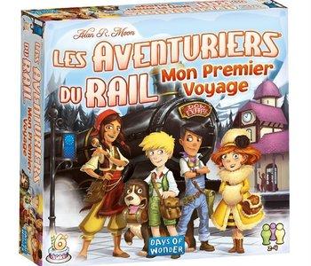Les Aventuriers Du Rail: Mon Premier Voyage: Europe (FR)
