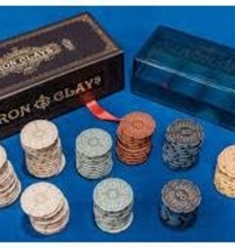 Roxley Iron Clays-Brass: Retail Edition (100 Chips) (EN)