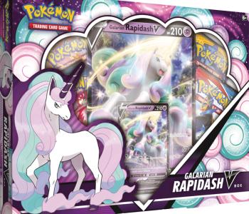 Pokemon: Galarian Rapidash V Box (EN)