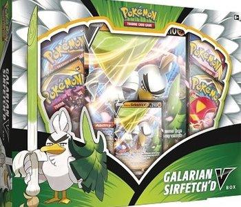Pokemon: Galarian Sirfetch'd V Box (EN)
