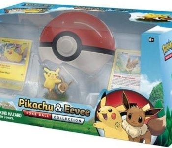 Pokemon: Pikachu And Eevee Poke Ball Collection (EN)