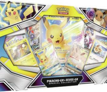 Pokemon: Pikachu GX And Eevee GX Collection (EN)