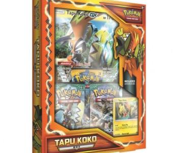 Pokemon: Tapu Koko Box International Version (EN)