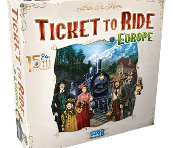 Ticket To Ride: Europe: 15TH Anniversary Edition (EN)