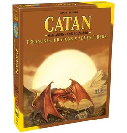 Catan Catan: Ext. Treasures, Dragons & Adventurers (EN)