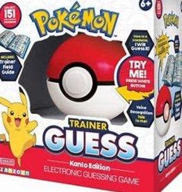 Pokemon Précommande: Pokemon: Trainer Guess: Kanto Edition (EN)