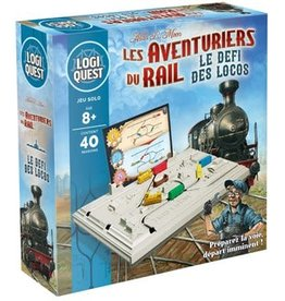 Mixlore Précommande: Logiquest: Les Aventuriers Du Rail: Le Défi Des Locos (FR)