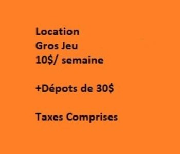 Location: Adventure Games: 1: Le Donjon (FR)