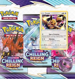 Pokemon Pokemon: Sword & Shield Chilling Reign 3 Pack Blister (EN)