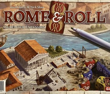 Précommande: Rome & Roll Ext. Characters (EN)