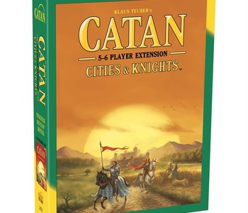 Catan: Ext. Cities & Knights 5-6 players (EN)
