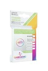 Gamegenic GGS10066ML «Standard American» 59mm X 91mm Matte / 50 Sleeves Gamegenic