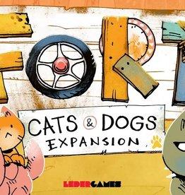 Leder Games Précommande: Fort: Ext. Cats And Dogs (EN)