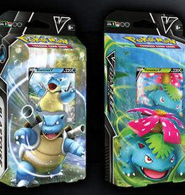 Pokemon Pokemon: Battle Decks Venusaur V/Blastoise V (FR)