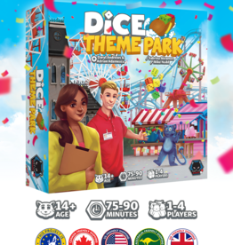 Alley Cat Games Dice Theme park (FR) (Deluxe) (Kickstarter) Date d'arrivée Février 2022