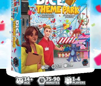 Dice Theme park (FR) (Deluxe) (Kickstarter) Date d'arrivée Février 2022