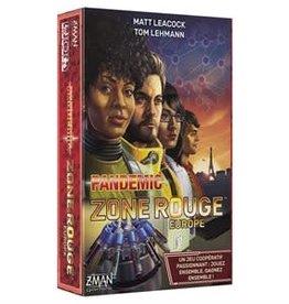 Z-Man Games, Inc. Pandemic Zone Rouge: Europe (FR)