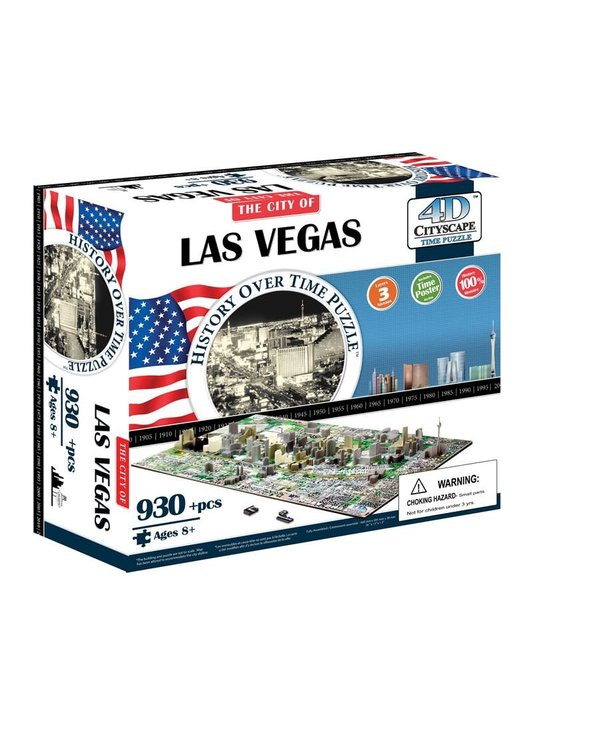 Casse-tête: 4D Cityscape: Las Vegas, USA (1202 Pieces)