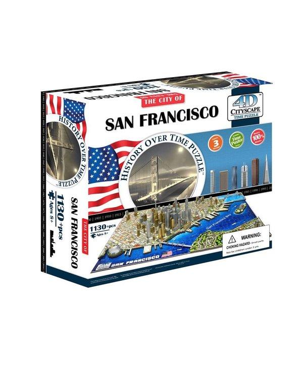 Casse-tête: 4D Cityscape: San Francisco, USA (1094 Pieces)