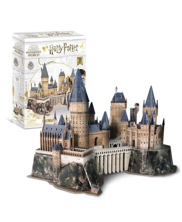 Casse-tête: 3D Puzzle: Harry Potter: Hogwarts Castle (197 Pieces)