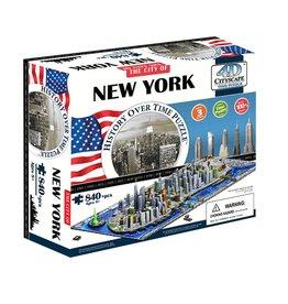 4D Brands International Casse-tête: 4D Cityscape: New York, USA (905 Pieces)