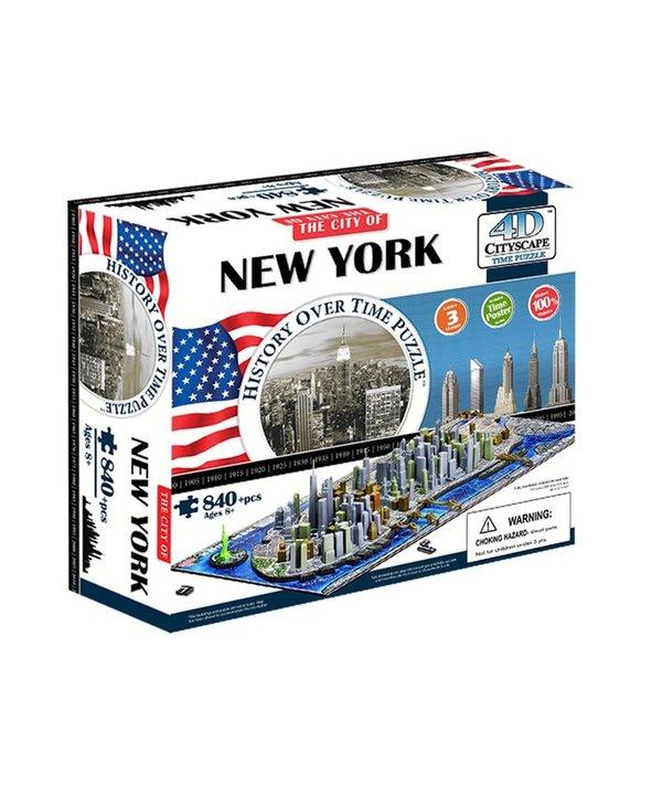 Casse-tête: 4D Cityscape: New York, USA (905 Pieces)
