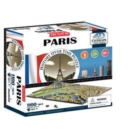 4D Brands International Casse-tête: 4D Cityscape: Paris, France (1174 Pieces)