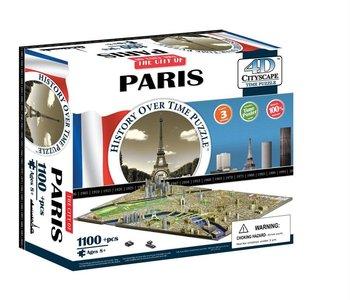 Casse-tête: 4D Cityscape: Paris, France (1174 Pieces)