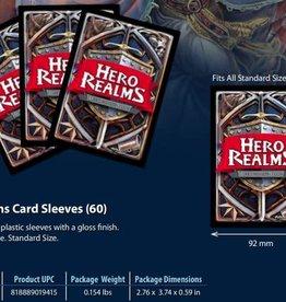 Wise Wizard Games Précommande: Hero Realms Sleeves 60CT 30 juillet 2021