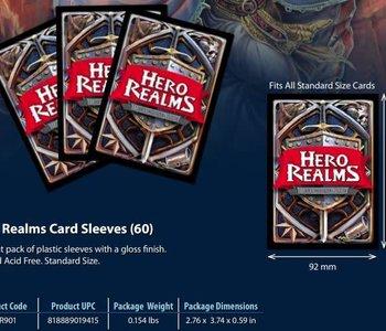 Hero Realms Sleeves 60CT
