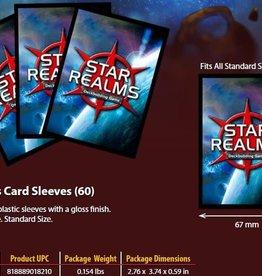 Wise Wizard Games Précommande:  Star Realms Sleeves 60CT 30 juillet 2021