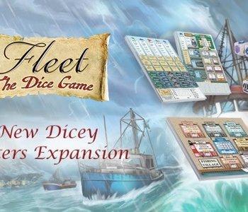 Fleet: The Dice Game: Ext. Dicey Waters (EN)